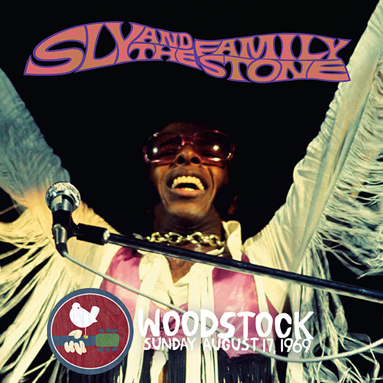 Sly & The Family Stone: Woodstock Sunday August 17, 1969 Vinyl 2LP (Record Store Day)
