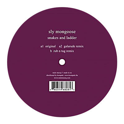 Sly Mongoose: Snakes And Ladder (Rub N Tug) Vinyl 12""