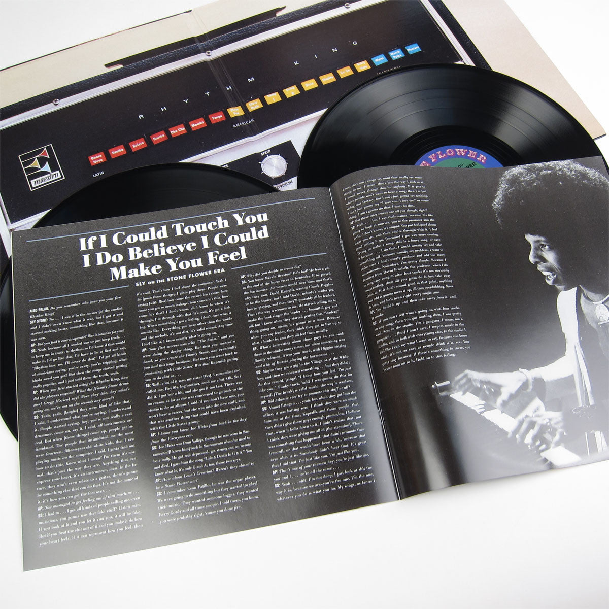 Sly Stone: I'm Just Like You - Sly's Stone Flower 1969-70 Vinyl 2LP booklet