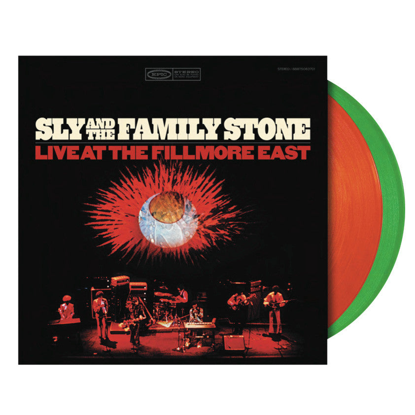 Sly & The Family Stone: Live at the Fillmore (Colored Vinyl) Vinyl 2LP (Record Store Day)