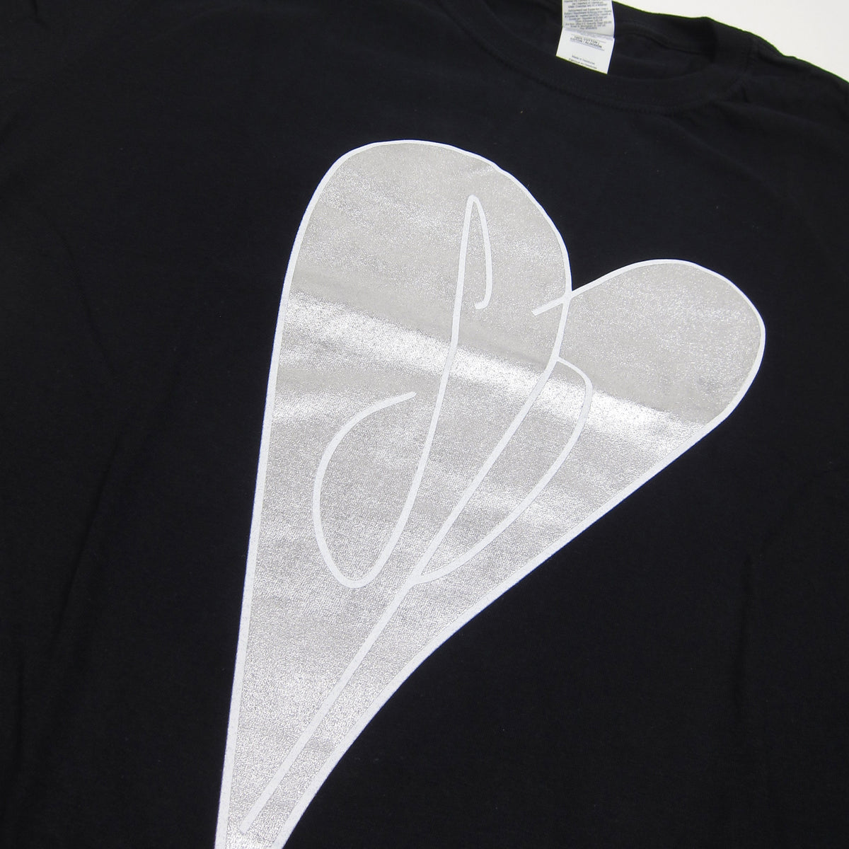 Smashing Pumpkins: Initial Heart Shirt - Black