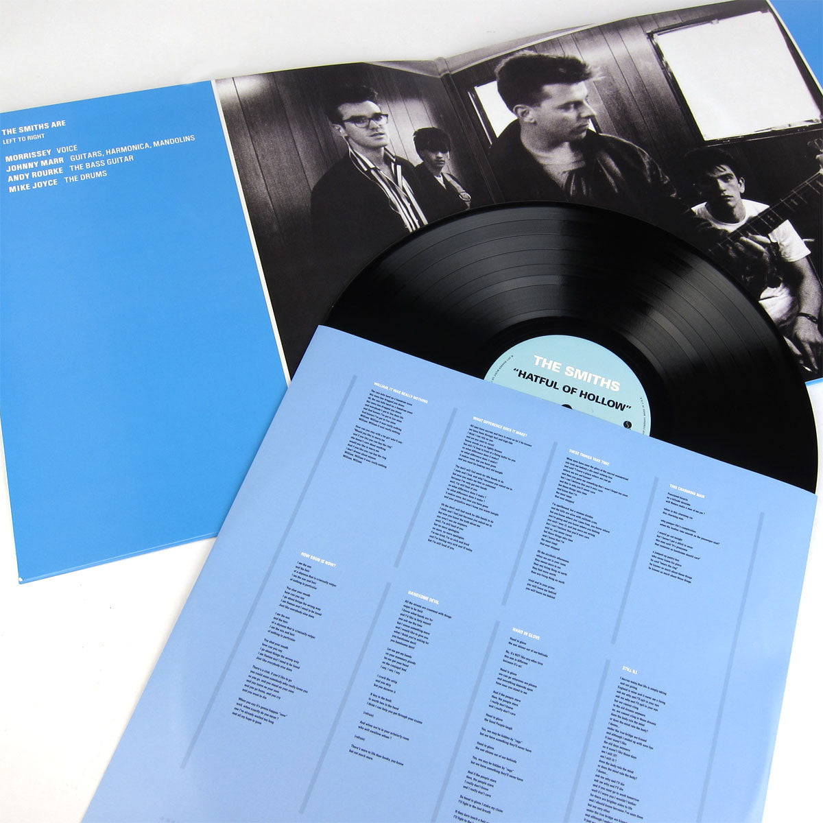 The Smiths: Hatful Of Hollow LP gatefold