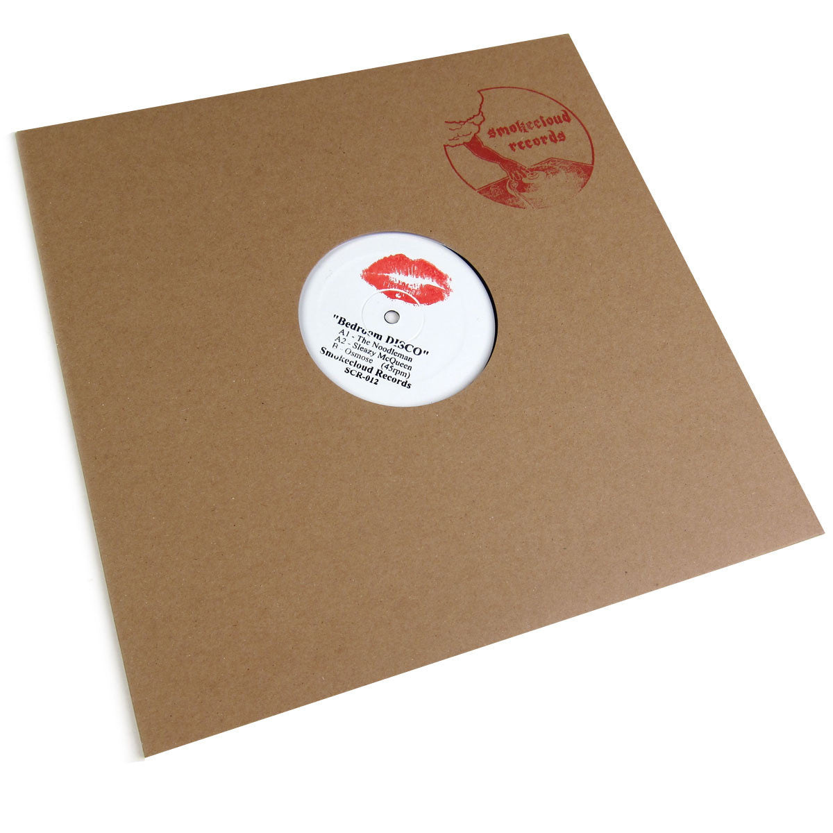 Smokecloud Records: Bedroom Disco (Sleazy McQueen, Osmose) Vinyl 12""