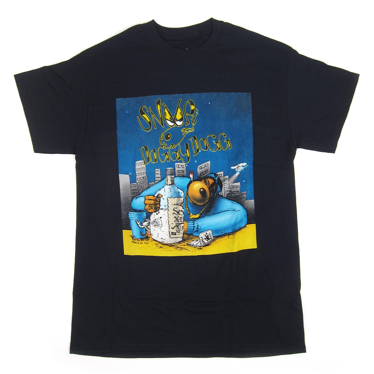 Snoop Dogg: Gin & Juice Shirt - Black