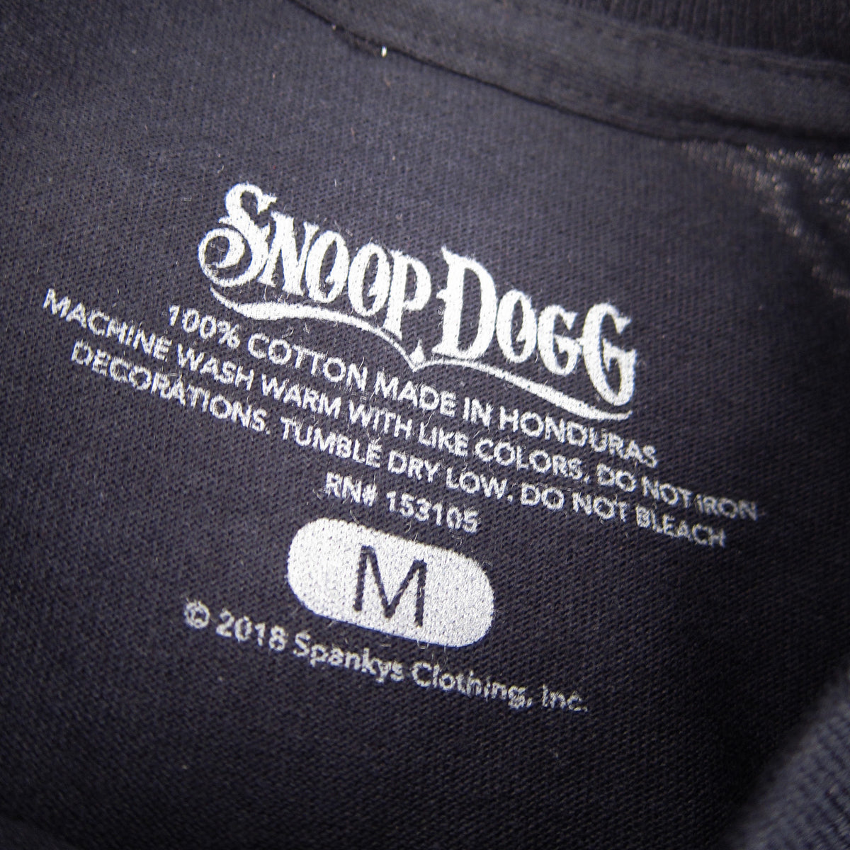 Snoop Dogg: Beanie Profile Shirt - Black