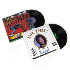 Dr. Dre / Snoop Doggy Dogg: Death Row Vinyl LP Album Pack