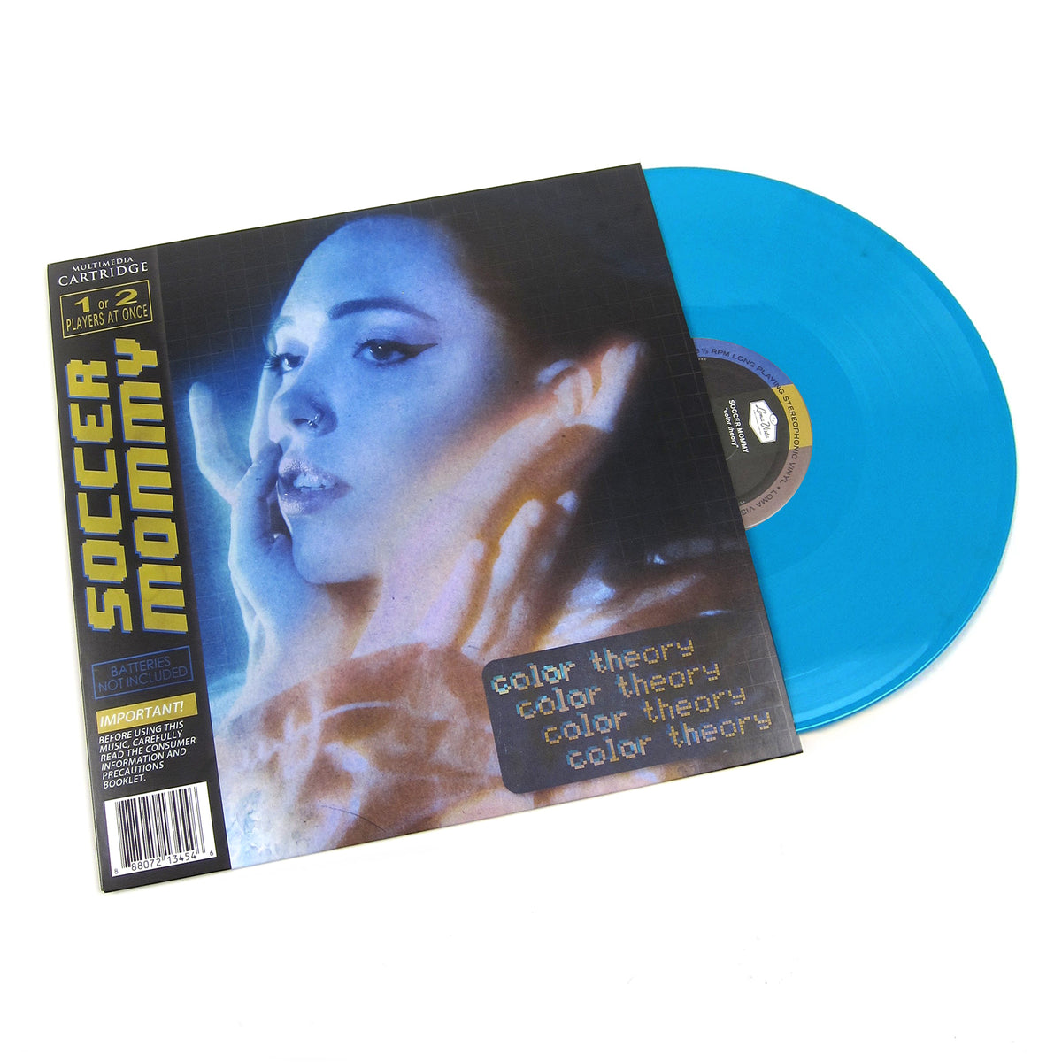 Soccer Mommy: Color Theory (Indie Exclusive Random Colored Vinyl) Vinyl LP