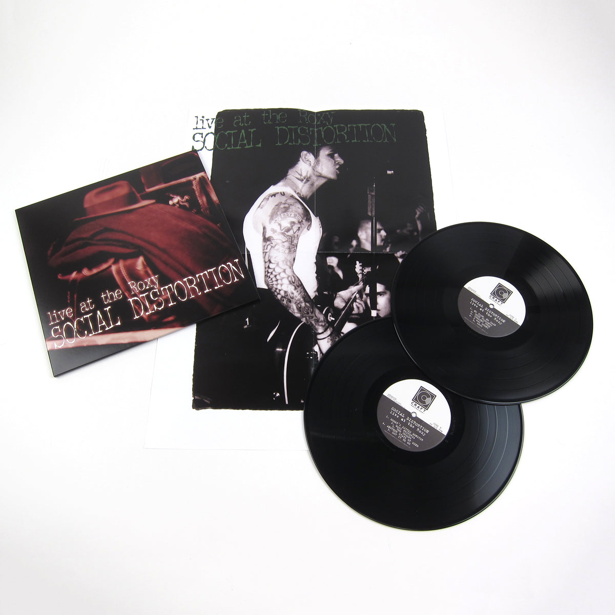Social Distortion: Live At The Roxy Vinyl 2LP