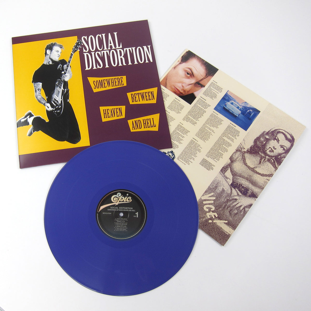 Social Distortion: Somewhere Between Heaven And Hell (Music On Vinyl 180g, Colored Vinyl) Vinyl LP