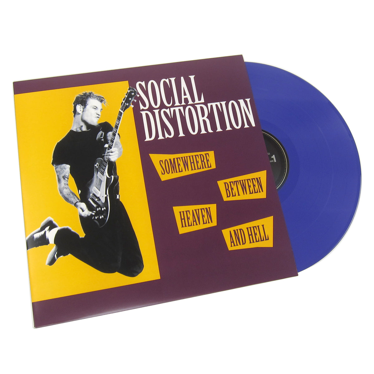 Social Distortion: Somewhere Between Heaven And Hell (Music On Vinyl 180g, Colored Vinyl) Vinyl 2LP