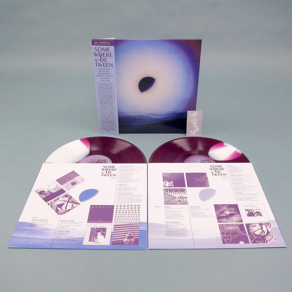 Light In The Attic: Somewhere Between - Mutant Pop, Electronic Minimalism & Shadow Sounds of Japan 1980-88 (Colored Vinyl) Vinyl LP - Turntable Lab Exclusive