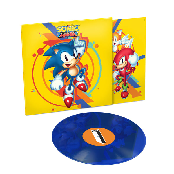 Tee Lopes: Sonic Mania Soundtrack (180g, Colored Vinyl) Vinyl LP