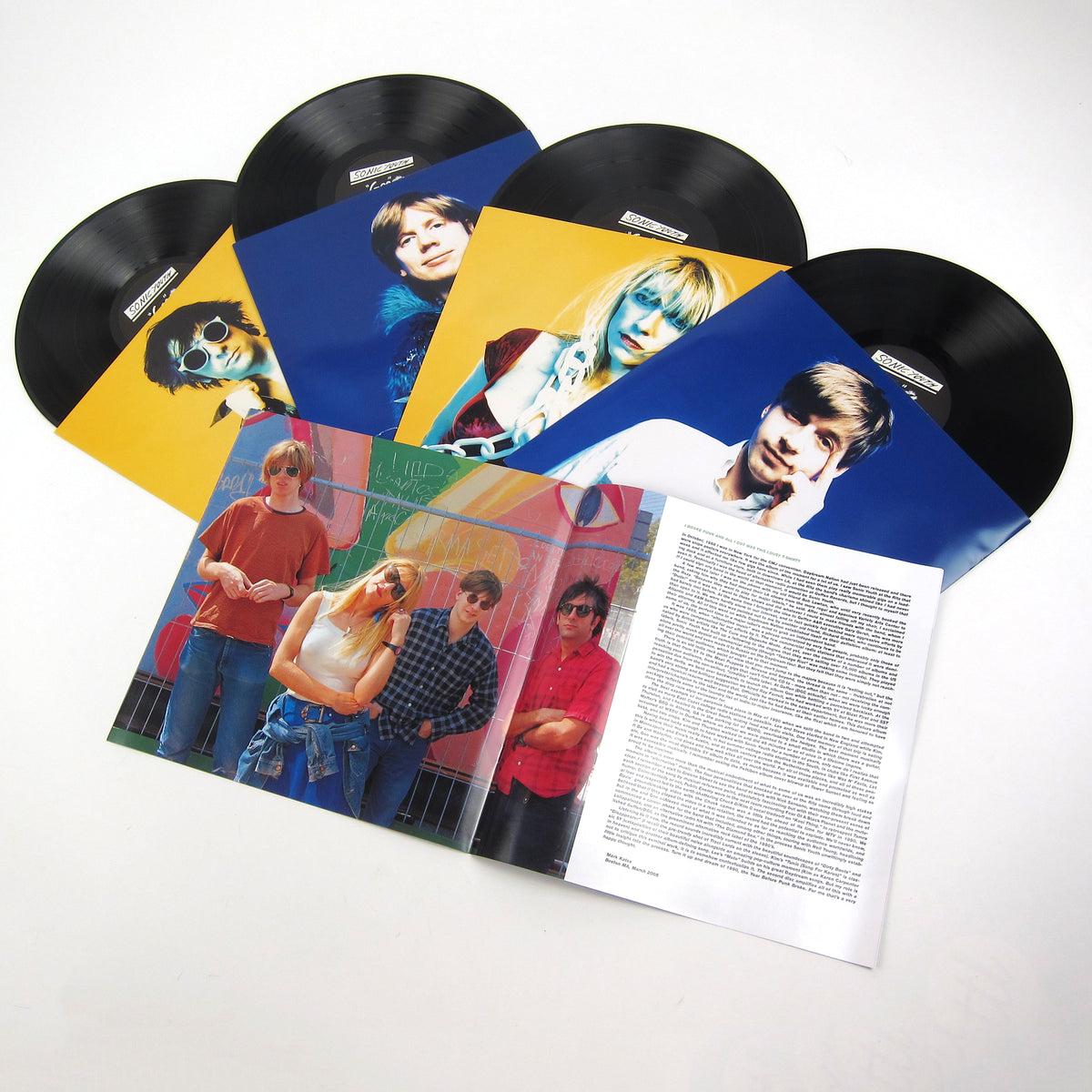 Sonic Youth: Goo Boxset Vinyl 4LP