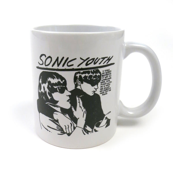 Sonic Youth: Goo Mug - White
