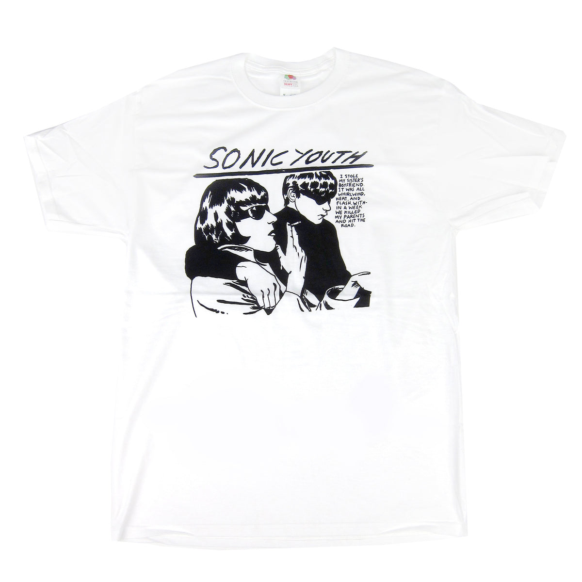 Sonic Youth: Goo Shirt - White