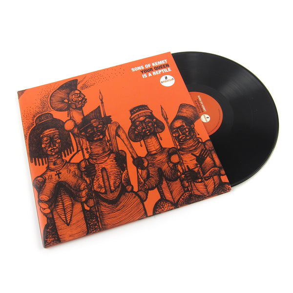 Sons Of Kemet: Your Queen Is A Reptile Vinyl 2LP