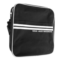 "Soul Jazz Records: Record Bag 12"" - Black / White"