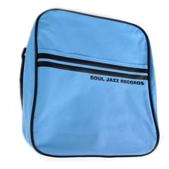 "Soul Jazz Records: Record Bag 12"" - Powder Blue / Black"