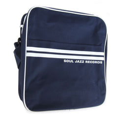 "Soul Jazz Records: Record Bag 12"" - Navy / White"