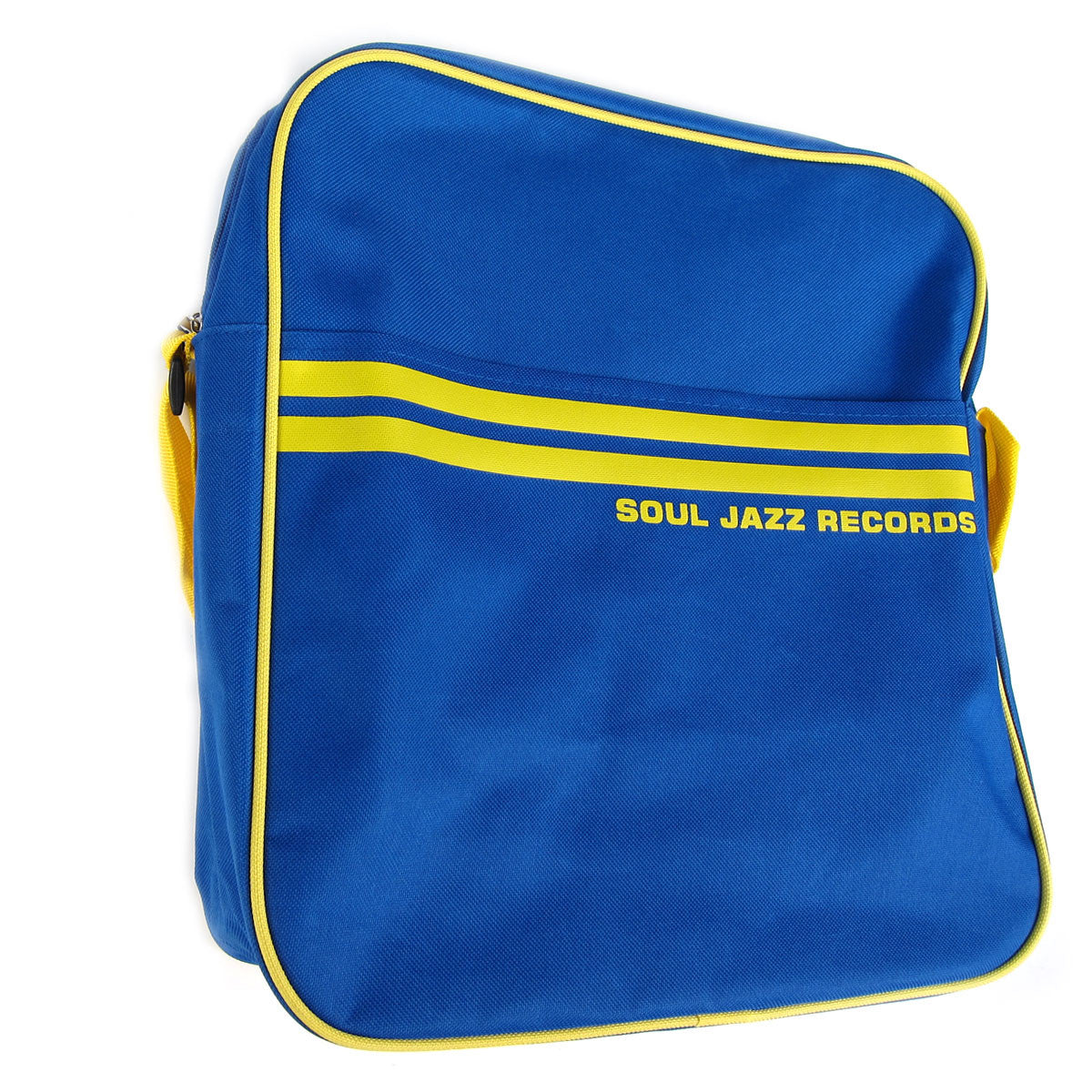"Soul Jazz Records: Record Bag 12"" - Royal Blue / Yellow"