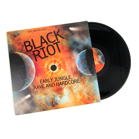 Soul Jazz Records: Black Riot - Early Jungle, Rave And Hardcore Vinyl 2LP