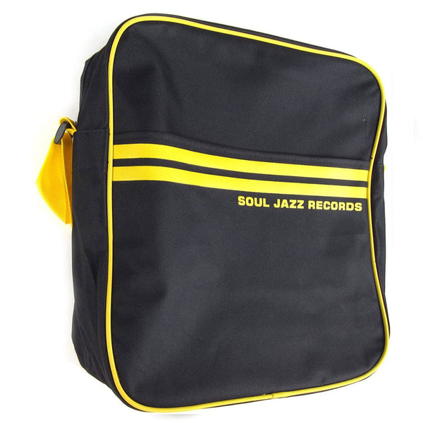 "Soul Jazz Records: Record Bag 12"" - Black / Yellow"