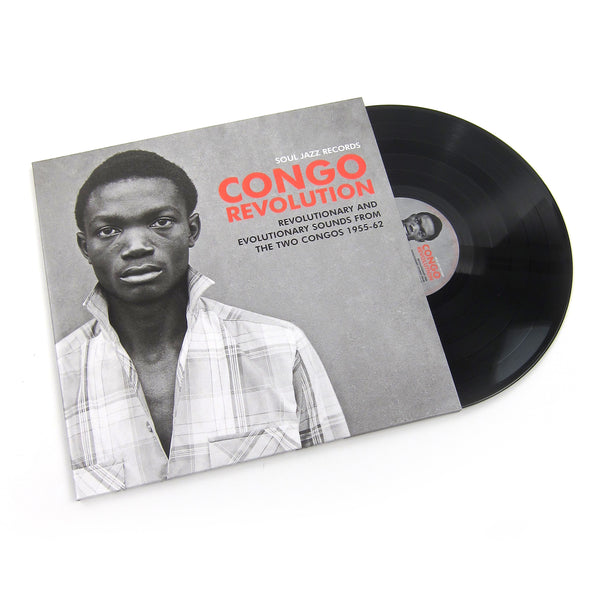 Soul Jazz Records: Congo Revolution - Revolutionary & Evolutionary Sounds From The Two Congos 1955-62 Vinyl 2LP