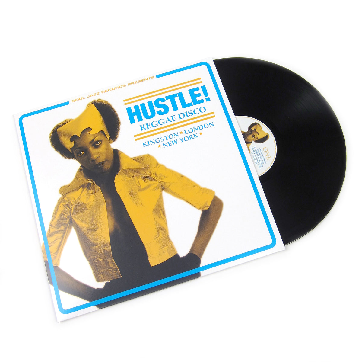 Soul Jazz Records: Hustle! Reggae Disco Vinyl 3LP