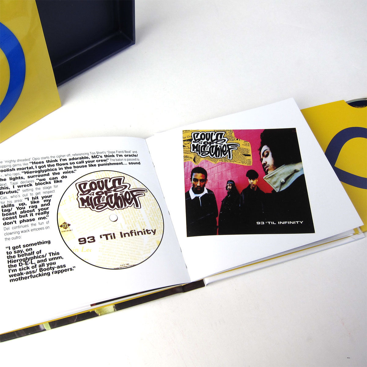 Souls of Mischief: 93 Til Infinity 20th Anniversary CD Boxset detail 2