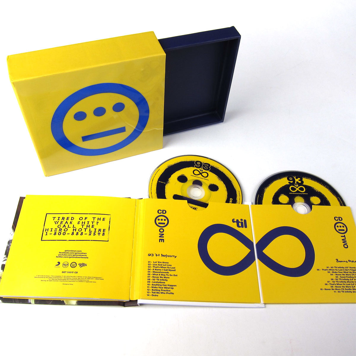 Souls of Mischief: 93 Til Infinity 20th Anniversary CD Boxset detail