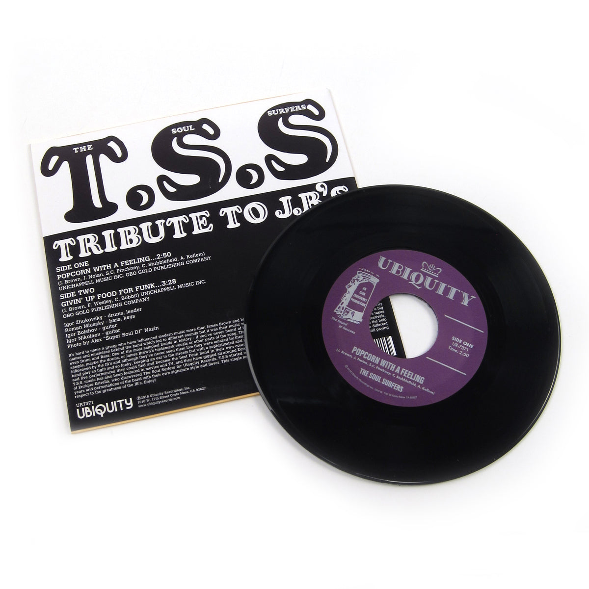 Soul Surfers: Tribute To J.B.'s Vinyl 7""