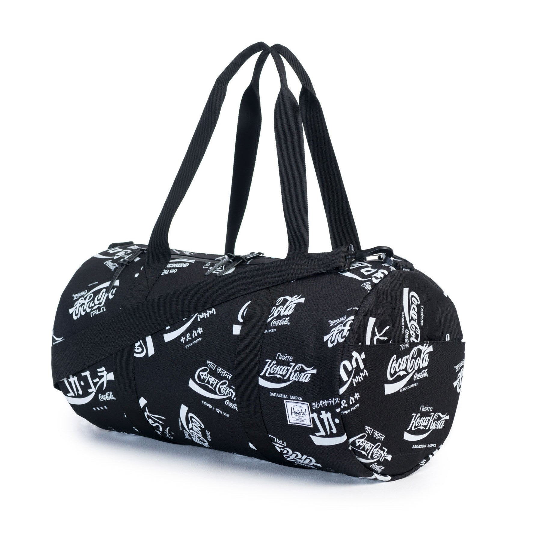Herschel Supply Co.  Sparwood Duffle - Black Coca Cola ... 570718541ad71