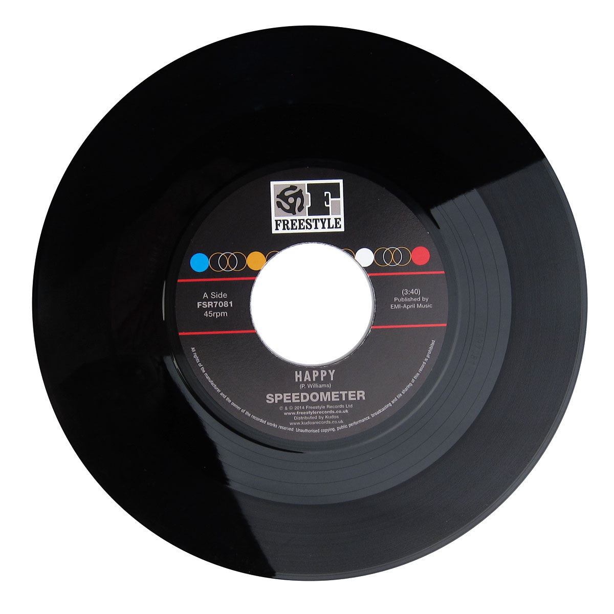Speedometer: Happy / Orisha (Pharrell) Vinyl 7""