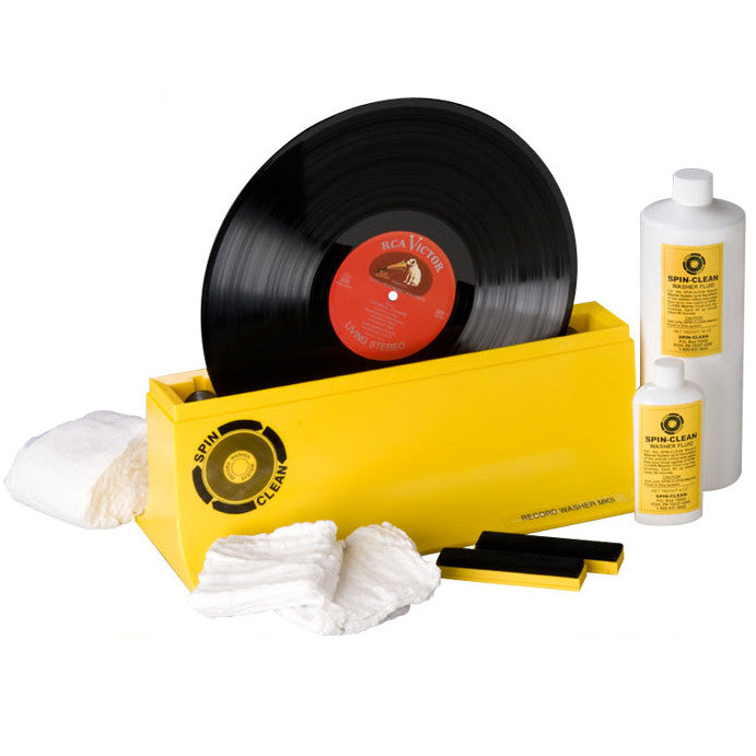Spin Clean: Spin Clean MKII Record Washing System - Deluxe Package