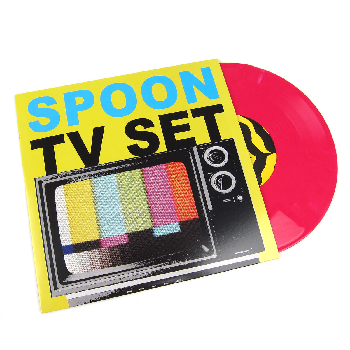 "Spoon: TV Set (Poltergeist, Colored Vinyl) Vinyl 10"" (Record Store Day)"