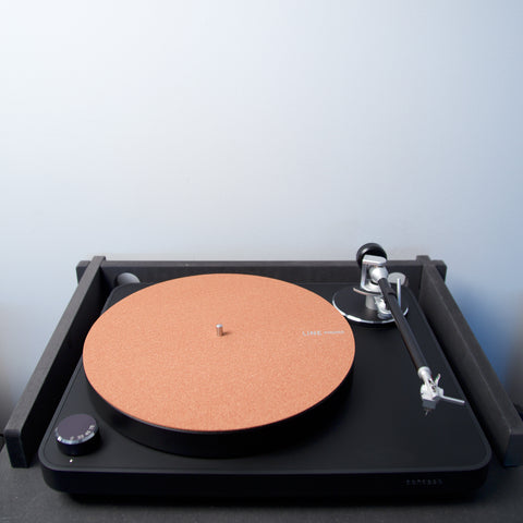 Line Phono: Red Clay Cork Record Mat