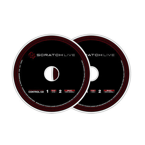 Rane: Serato Scratch Live Control CD (Pair)