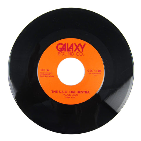 Blackcash & Theo: Galaxy Edits Vol.8 (The S.S.O. Orchestra) Vinyl 7""