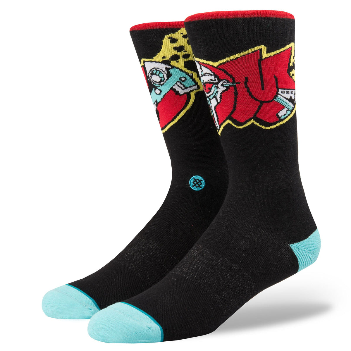 Stance: MF Doom Metal Face Socks - Black