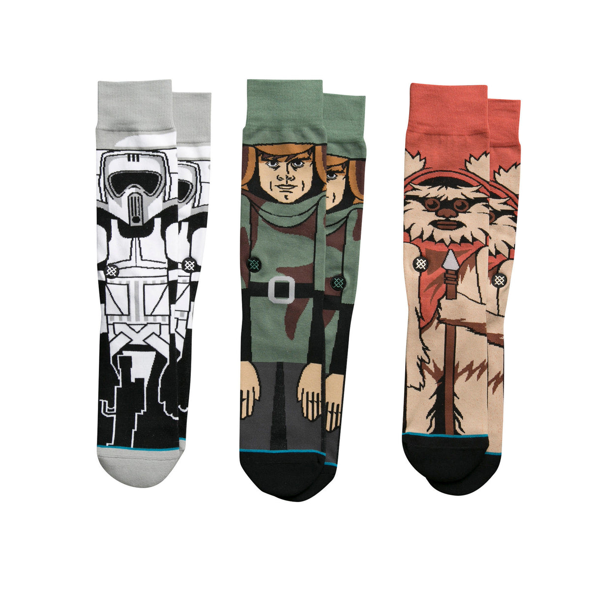 Stance: Return Of The Jedi Socks 3 Pack (M545D16RET)