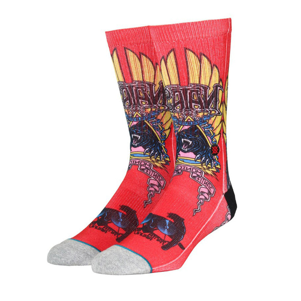 Stance: Natas Socks - Red