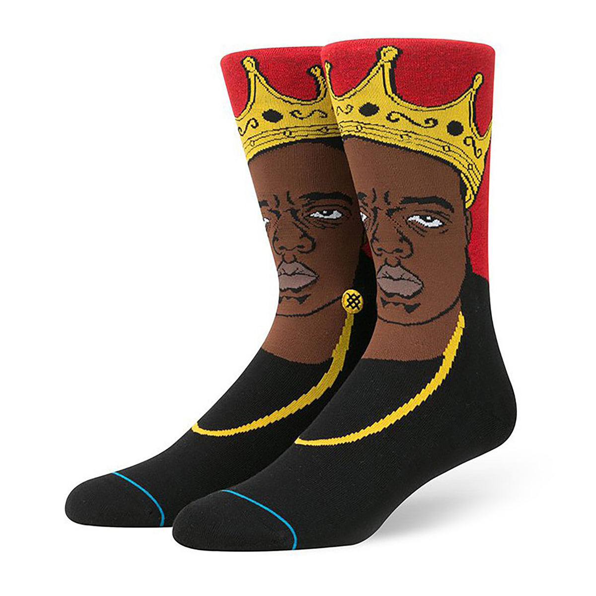 Stance: Notorious Big Socks - Red