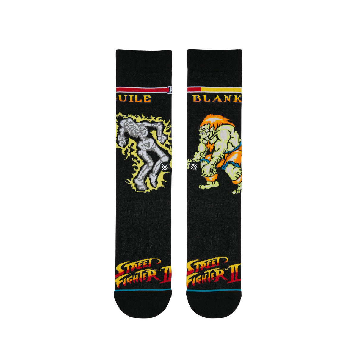 Stance: Guile Vs Blanka Socks