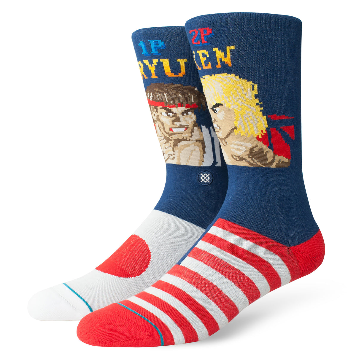 Stance: Street Fighter II Sock Pack (3 Pairs)