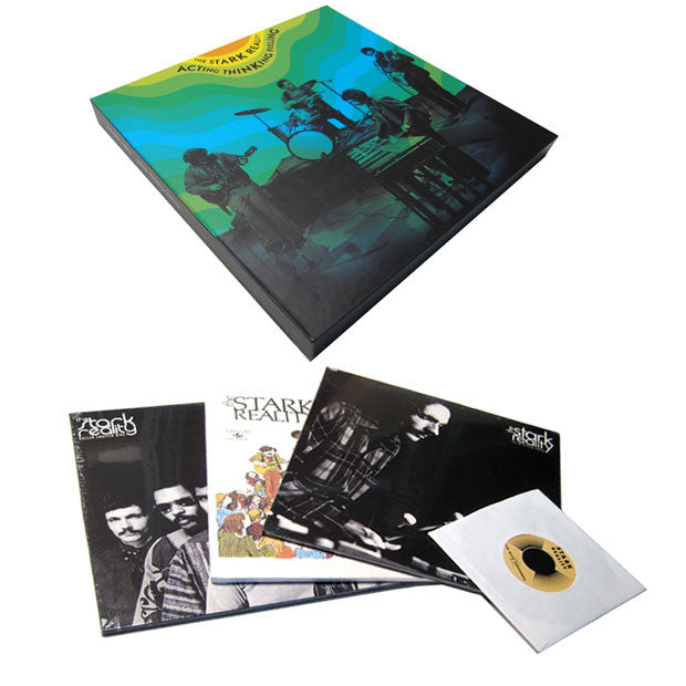 "Stark Reality: Acting, Thinking, Feeling 6LP + 7"" (Free MP3) Boxset"