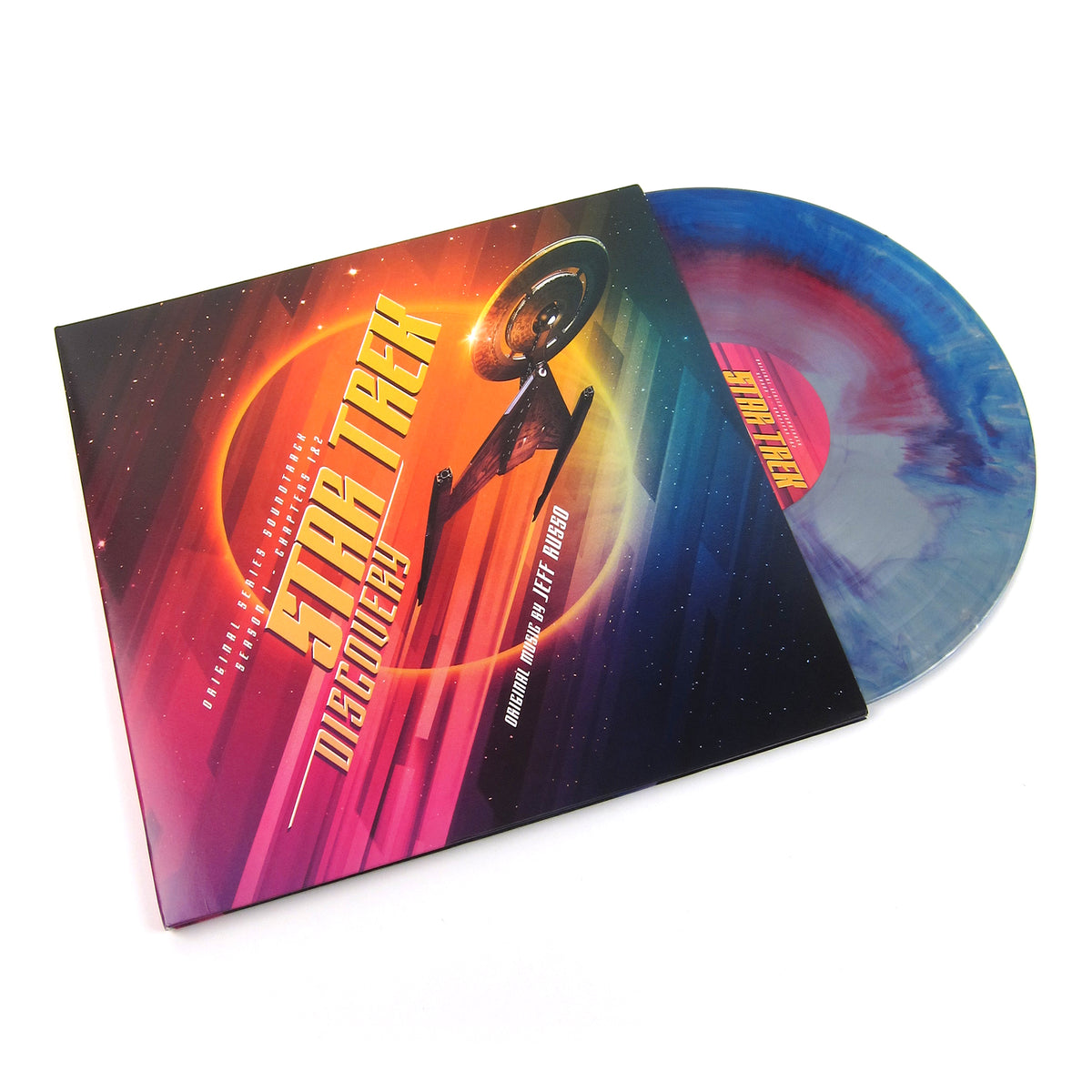 Jeff Russo: Star Trek - Discovery (Colored Vinyl) Vinyl 2LP