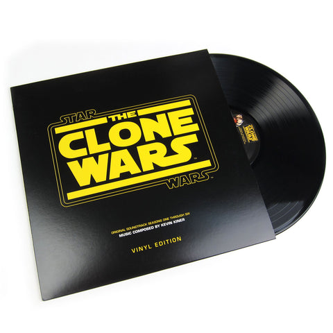 Kevin Kiner: Star Wars The Clone Wars Original Soundtrack Vinyl LP