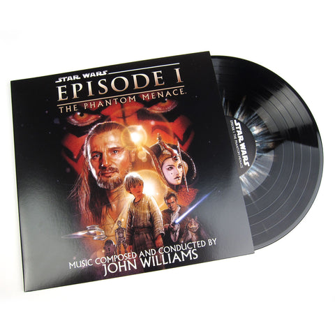 John Williams: Star Wars - The Phantom Menace Soundtrack (Hyperdrive Colored Vinyl) Vinyl 2LP