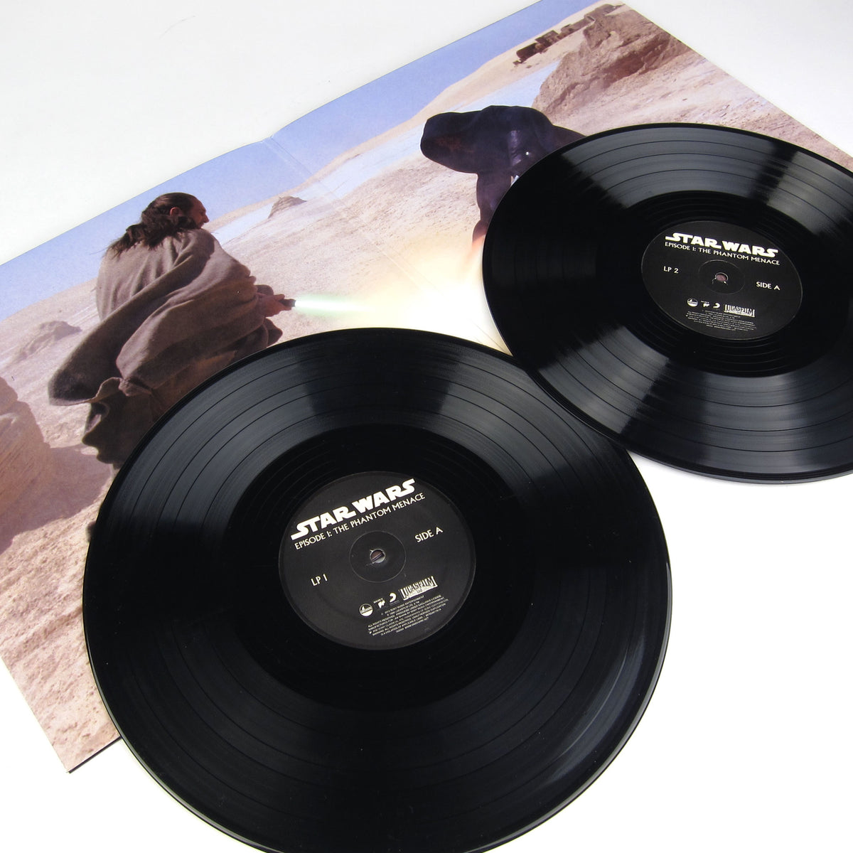 John Williams: Star Wars Episode 1 - The Phantom Menace Soundtrack Vinyl 2LP detail