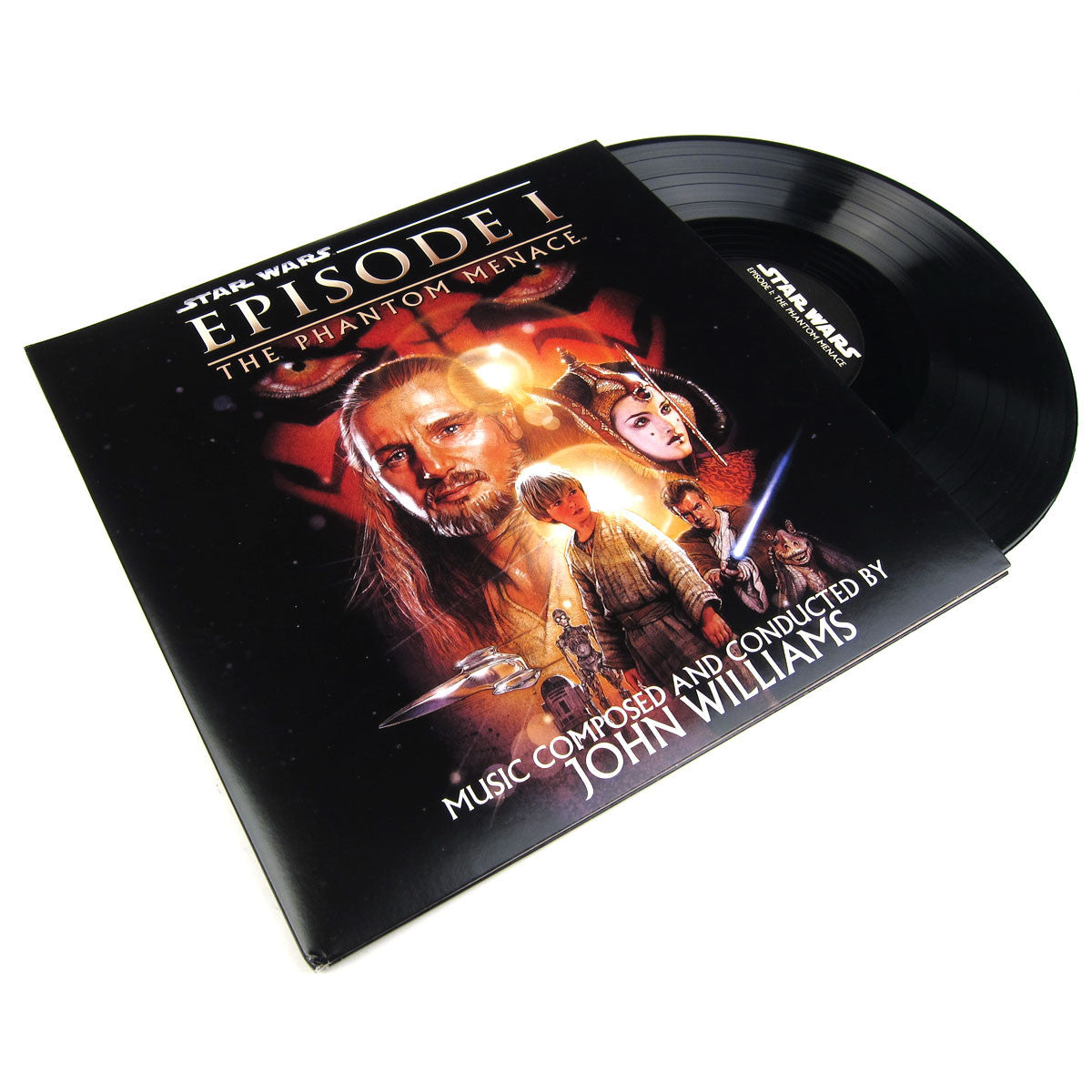 John Williams: Star Wars Episode 1 - The Phantom Menace Soundtrack Vinyl 2LP